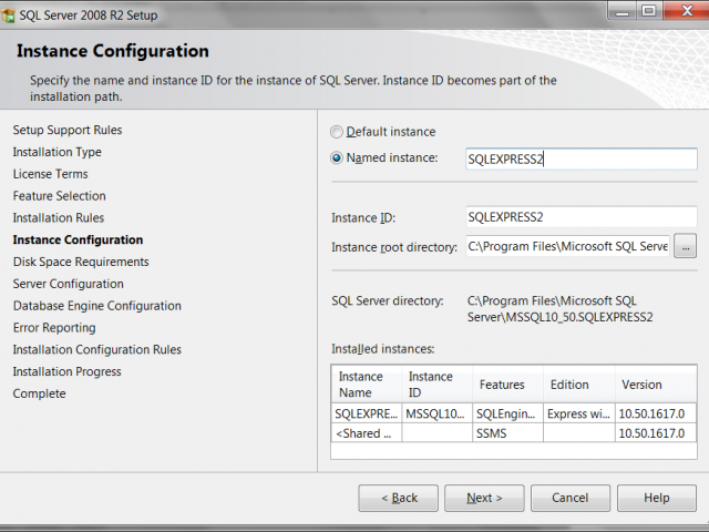 SQL Server - How to Create Multiple Instances on Single